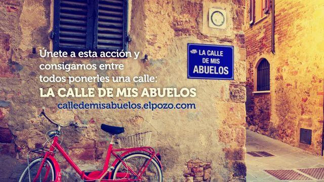 ElPozo rinde homenaje a los abuelos e impulsa una campaña para dedicarles una calle en España, Foto 1