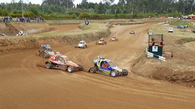El piloto totanero David Martínez Torrente participó en la 9° edición del Autocross de Carballo, Foto 1