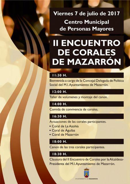 Grupos de La Azohía, Águilas y Mazarrón actuarán este viernes 7 julio durante una jornada de convivencia, Foto 1