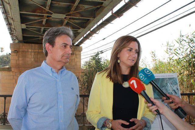 Fomento preservará el puente metálico de Archena y construirá uno nuevo en paralelo - 1, Foto 1