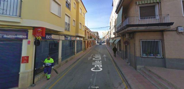 Obras de mejora de redes de abastecimiento y saneamiento en calle Colón y adyacentes, Foto 1