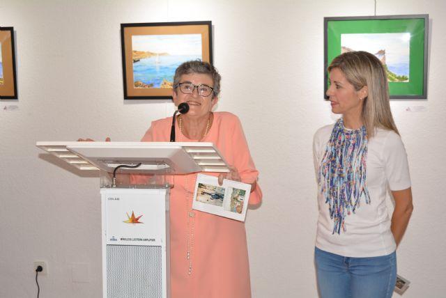 Joaquina Pérez Mateos inaugura su primera exposición en solitario en Águilas - 1, Foto 1