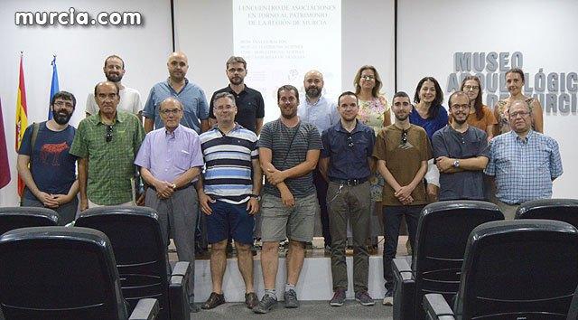 Se reúnen por primera vez las asociaciones en torno al patrimonio histórico de la Region de Murcia, Foto 1