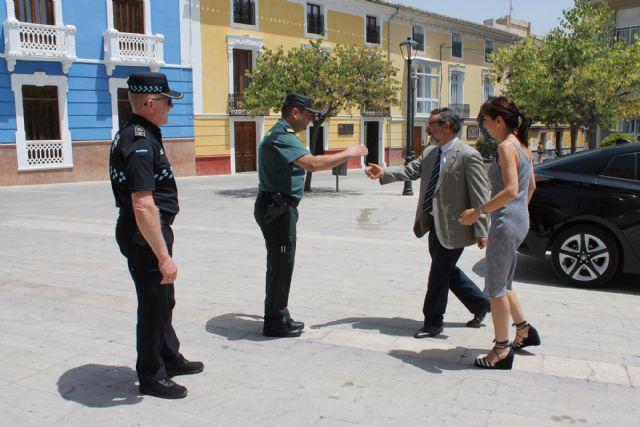 El Delegado del Gobierno en Murcia visita Bullas - 1, Foto 1