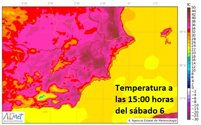 Fin de semana muy caluroso y alto riesgo de incendios, alertan desde Protecci�n Civil Totana, Foto 3