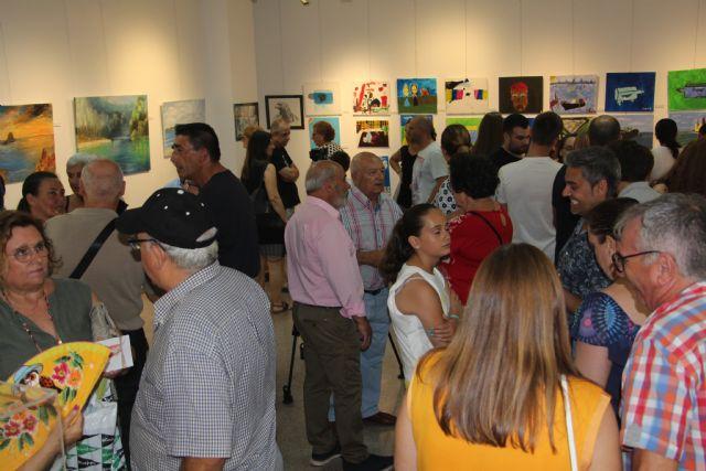 Los alumnos del taller de arte exponen Entre el cielo y la sal - 2, Foto 2
