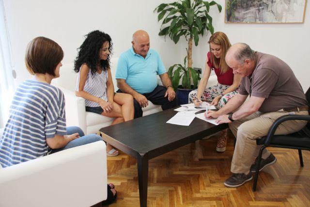 El Consistorio suscribe un nuevo convenio con Proayuda Alimentaria, Foto 1