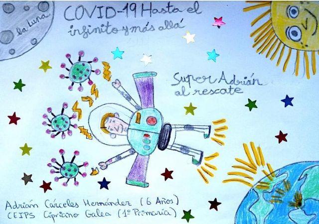 Más de treinta escolares participan en el concurso de dibujo ´Cuando tuvimos que quedarnos en casa´ - 1, Foto 1