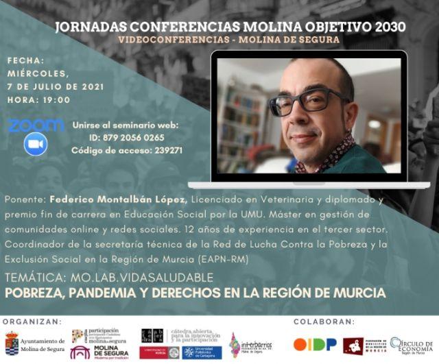 Federico Montalbán López cierra las III Jornadas online Molina Objetivo 2030, con una videoconferencia el miércoles 7 de julio - 1, Foto 1