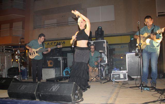 La Espartera muestra su rumba flamenca en Puerto Lumbreras - 1, Foto 1