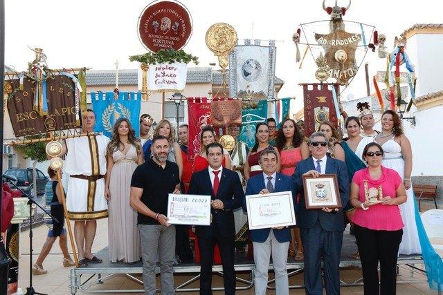 Un cupón especial del sorteo de la ONCE homenajea el XX Aniversario de las Fiestas Sodales Ibero-Romanas de Fortuna - 1, Foto 1