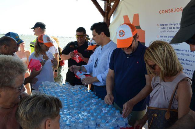 La campaña Disfruta de un baño seguro llegó a la playa Barnuevo - 2, Foto 2