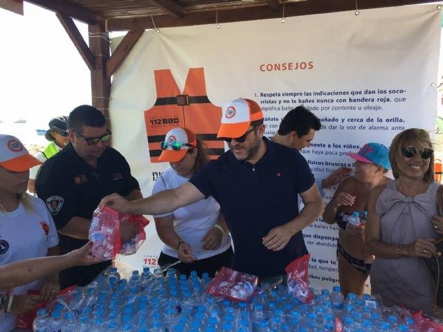 Presidencia presenta la campaña ´Disfruta de un baño seguro´ en San Javier - 1, Foto 1