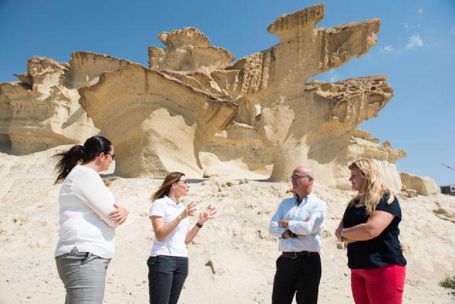 El ayuntamiento pide proteger las erosiones de Bolnuevo mientras se tramita la declaración de monumento natural, Foto 4