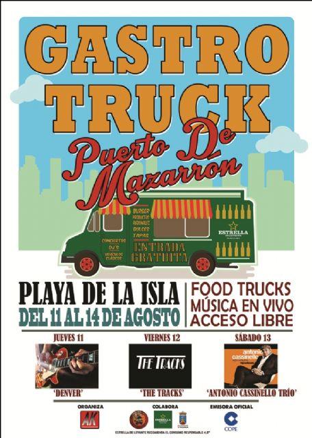 Gastro Truck llega a Puerto de Mazarrón el próximo 11 de agosto - 2, Foto 2