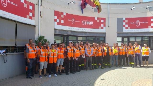 70 voluntarios de Protección Civil vigilan monte y espacios naturales para prevenir los incendios forestales en la Región de Murcia, Foto 1