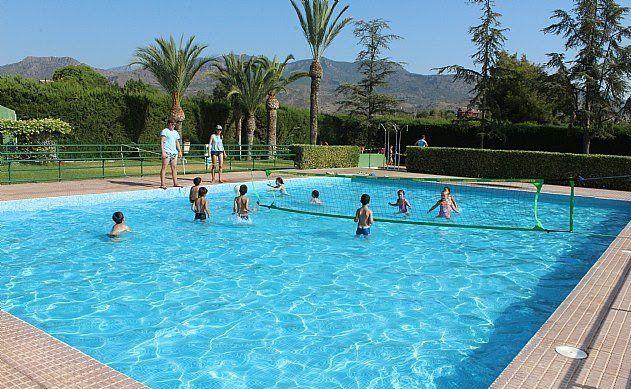 Las piscinas públicas del Polideportivo Municipal