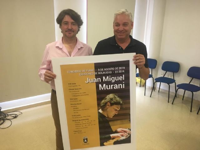 La música clásica regresa este viernes a las Erosiones de Bolnuevo de manos del pianista totanero Juan Miguel Murani - 1, Foto 1