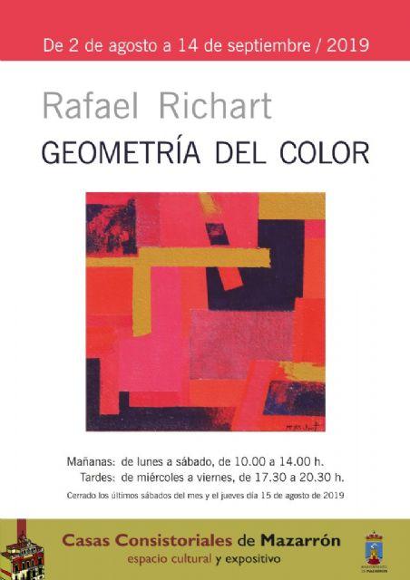 Casas Consistoriales acoge la Geometría del color de Rafael Richart hasta el 14 de septiembre - 1, Foto 1