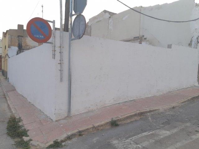 Ejecutan de forma subsidiaria las obras de demolición del inmueble situado en la calle San Ildefonso, esquina con Presbítero Rodríguez Cabrera