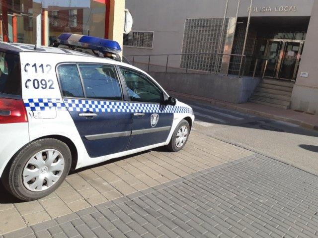 La Policía Local detiene a una persona como presunta autora de varios robos y hurtos acaecidos en esta localidad