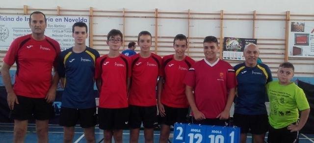 Tenis de mesa. Club Totana tm - Torneo de pretemporada en Novelda, Foto 1