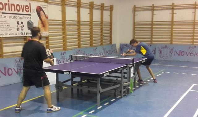 Tenis de mesa. Club Totana tm - Torneo de pretemporada en Novelda, Foto 2