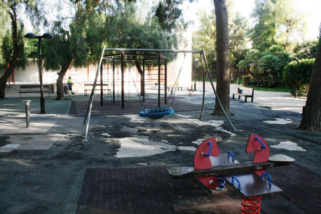 "The rehabilitation works of the playground of the municipal park ""Marcos Ortiz"" begin throughout this month of September - 1"