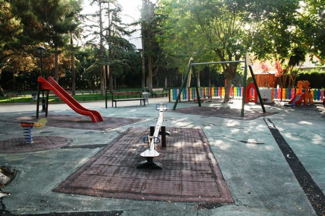 "The rehabilitation works of the playground of the municipal park ""Marcos Ortiz"" begin throughout this month of September - 2"