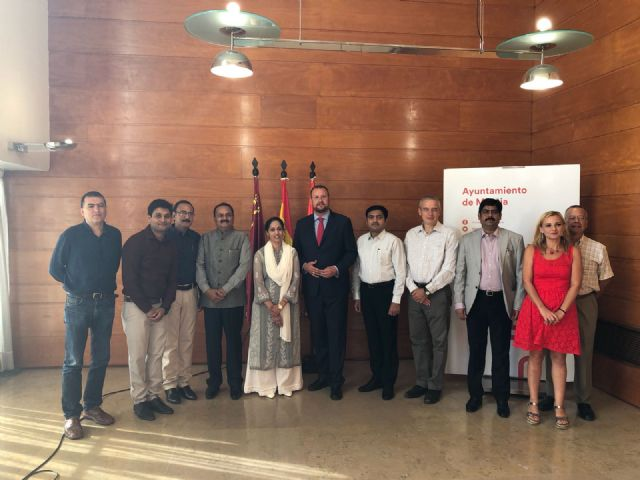 Una delegación India conoce el proyecto Smart City que lleva a cabo el Ayuntamiento de Murcia - 1, Foto 1