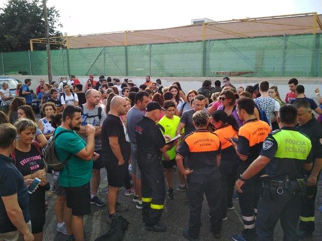 Protección Civil de Totana informa que de momento se va a suspender la búsqueda de María Ignacia hasta nuevo aviso, Foto 3