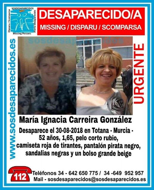 Protección Civil de Totana informa que de momento se va a suspender la búsqueda de María Ignacia hasta nuevo aviso, Foto 5