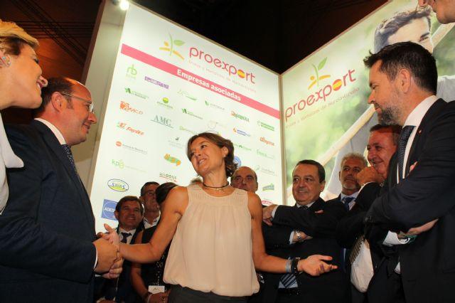 Los socios de PROEXPORT agradecen en la inauguración de Fruit Attraction la aprobación de un nuevo trasvase, Foto 2