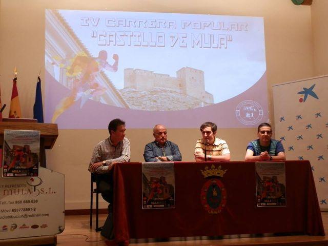 """Presentada la IV Carrera Popular """"Castillo de Mula"""" y XXX Milla Urbana """"Ciudad de Mula"""" - 3, Foto 3"""