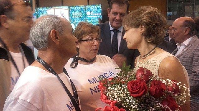 Reinvindican agua para Murcia durante la inauguración de Fruit Attraction, Foto 1
