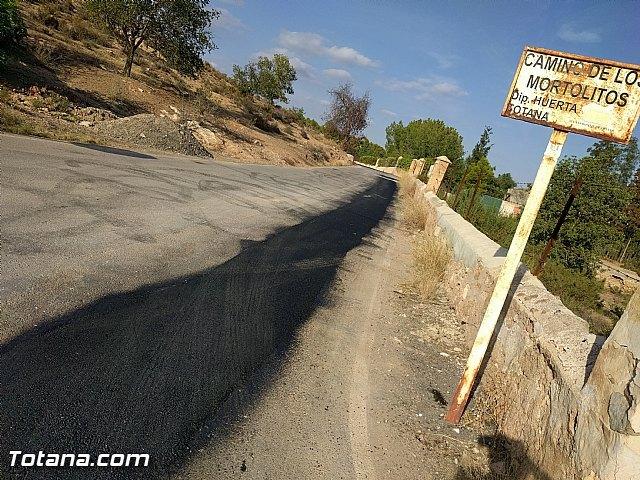 Comienza el plan de choque para parchear los caminos rurales con más necesidades del municipio, Foto 1