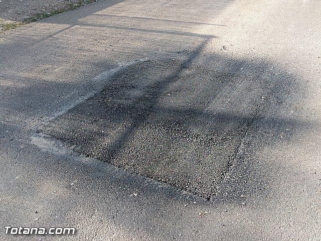 Comienza el plan de choque para parchear los caminos rurales con más necesidades del municipio, Foto 4