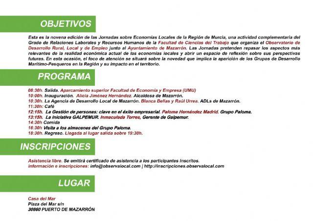 Más de 100 alumnos de la UMU analizan en Mazarrón las economías locales, Foto 3