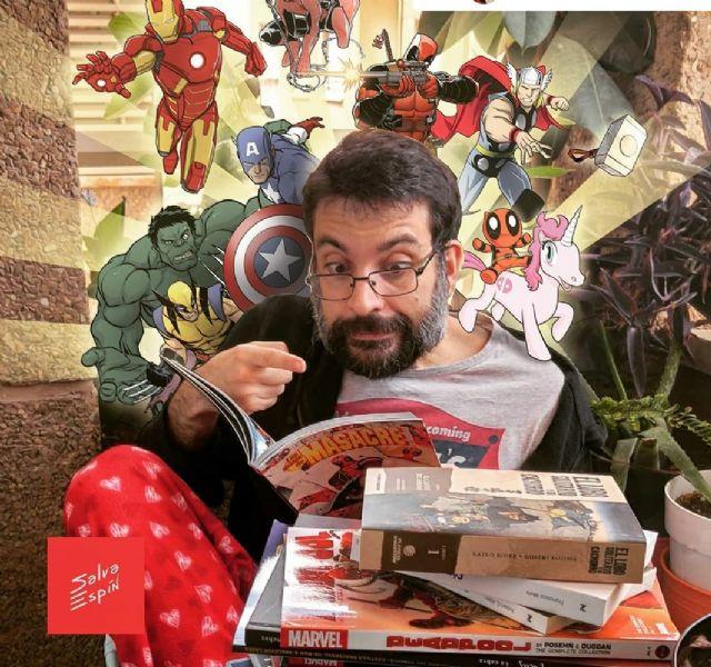 El dibujante de Marvel Salva Espín imparte una clase magistral para los alumnos de Alcantarilla el próximo jueves - 1, Foto 1