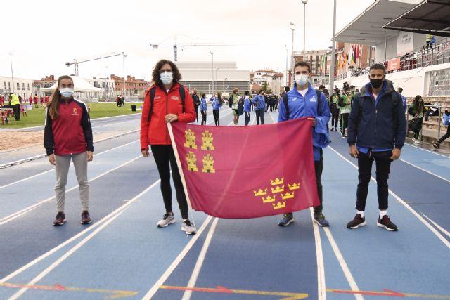 Notable actuación de los atletas del Club Atletismo Alhama en Pamplona, Foto 1