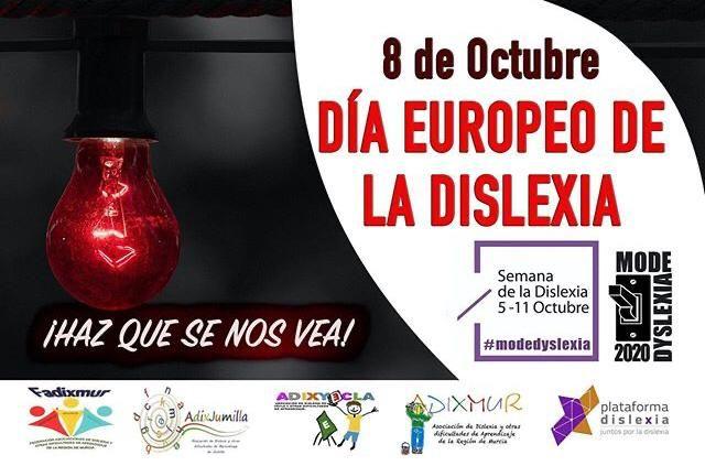 Jumilla volverá a hacer visible la dislexia iluminando de rojo el Ayuntamiento y la Plaza del Camionero - 1, Foto 1