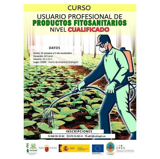 """Ofertado el curso """"Usuario Profesional de Productos Fitosanitarios"""" Nivel Cualificado - 1, Foto 1"""