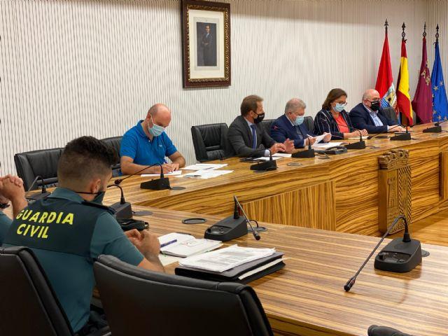 El Sr. Delegado del Gobierno preside la Junta Local de Seguridad de Torre Pacheco - 3, Foto 3