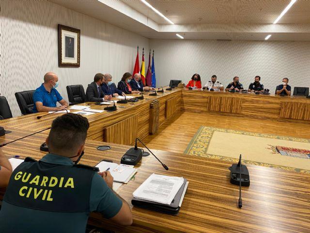 El Sr. Delegado del Gobierno preside la Junta Local de Seguridad de Torre Pacheco - 4, Foto 4