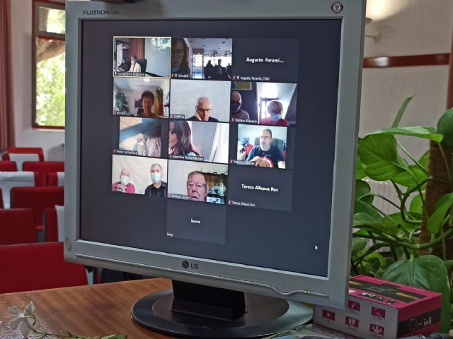 Los pasados días 1 y 2 de octubre tuvo lugar en Calasparra el Encuentro virtual Nuestro hermanamiento también ha construido Europa - 3, Foto 3