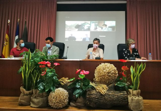 Los pasados días 1 y 2 de octubre tuvo lugar en Calasparra el Encuentro virtual Nuestro hermanamiento también ha construido Europa - 4, Foto 4