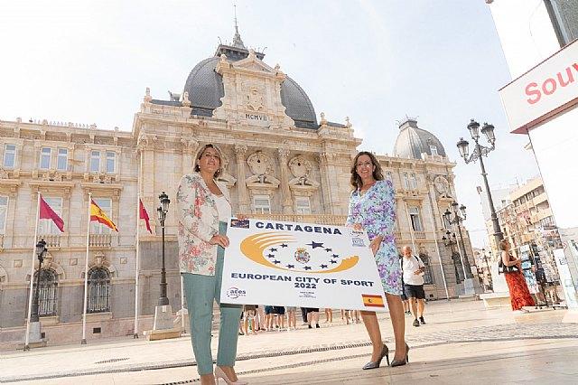 ISEN se congratula de la elección de Cartagena como 'Ciudad Europea del Deporte 2022' - 1, Foto 1