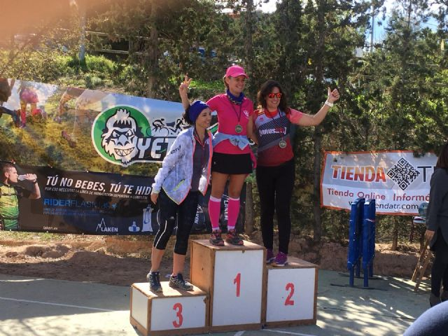 The CAT girls get three podiums on the Yeti Cool Trail, Foto 2