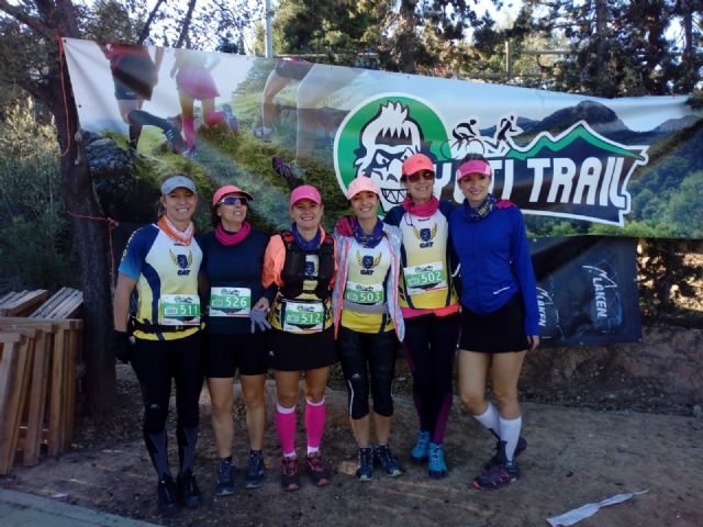 The CAT girls get three podiums on the Yeti Cool Trail - 8