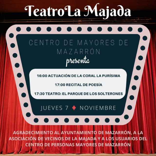 Actuaciones de los usuarios del centro de día de personas mayores en el teatro de La Majada, Foto 1
